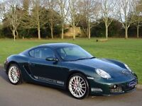 2007 (07) Porsche Cayman 3.4 987 S 2dr - 32,000 MILES ONLY - PORSCHE RACING GREEN