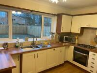 Fitted kitchen with appliances immaculate condition