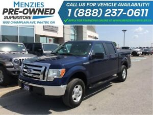 2012 Ford F-150 XLT Crew 4x4, Tube Bars, Clean Carproof