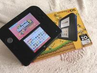 2DS Loaded with games & 32GB SD Card