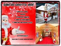 Santas Grotto Hire Christmas Grotto with Santa Clause visit, rodeo Reindeer Packages available