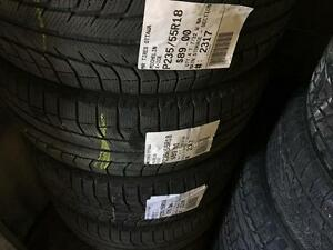 235/55/18 Michelin X-Ice *Winter Tires*