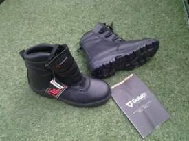 BRAND NEW black work BOOTS