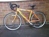 Junior orbea orange racing bike streamline, light frame £280