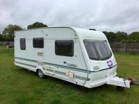 Lunar Clubman 2003 2 berth caravan with full Isabella awning