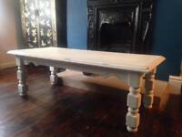 Vintage coffee table refurbished