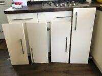 B and Q Kitchen Cupboard doors and end panel