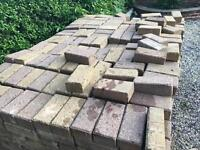 Block Paving used.