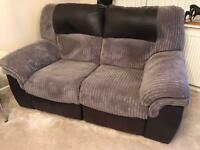 DFS 3 seater & 2 seater recliners