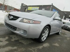 2004 Acura TSX TOIT OUVRANT, cuir, mags ....tres propre, garanti