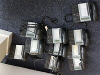 Fully working set of 10 office phones