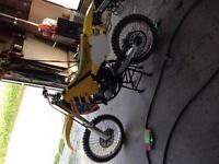 1992 RM 125 dirt bike