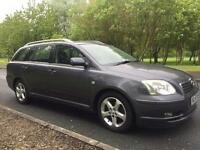 2005/55 TOYOTA AVENSIS 2.2 D4D T SPIRIT ESTATE *LEATHERS* WORKHORSE Corolla import export