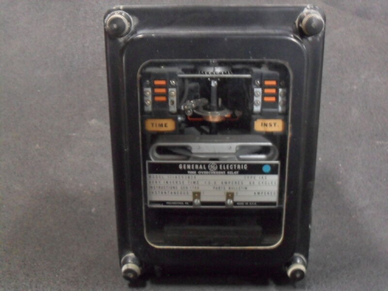 USED General Electric 12IAC53B2A Time Overcurrent Relay Very Inverse