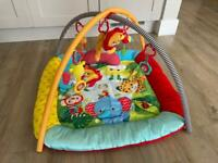 Mothercare: Baby Lights & Sounds Safari Deluxe Playmat and Arch