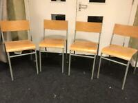 40 old school chairs £35 each