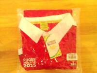 Brand New Welsh Rugby World Cup 2015 Shirt Size Large