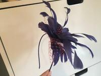 Fascinator Jules Verte Royal blue