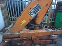 Hiab crane spares or repair