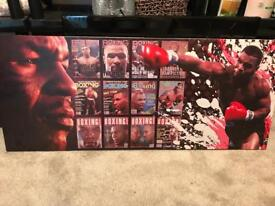 Wall Canvas. Boxing design