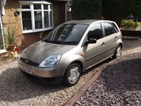 IMMACULATE LADY OWNED DIESEL FORD FIESTA 1.4 FINESSE 5 DOOR TDCi, £30 ROAD TAX,LOW INSURANCE GROUP