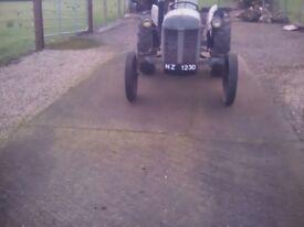 Ferguson tea petrol/tvo and ferguson bench saw