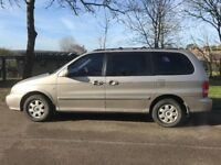 Kia Sedona 2.5 petrol automatic 7 seater 2003 Mot December fair condition would suit exporter