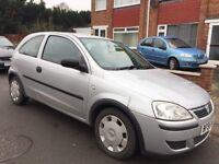Vauxhall Corsa 1.2 i 16v Life 3dr£399 ENGINE MISFIRE !! 2005 (55 reg), Hatchback