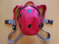 LittleLife Ladybird Backpack with rein