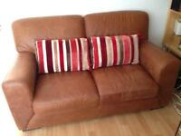2 seater unused Aniline Leather sofa from Sterling Furniture.