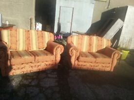 2 two seater sofa