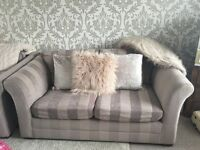 Two next sofas available together or individually- good condition