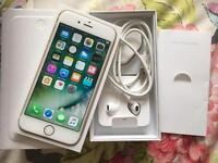 iPhone 6 Unlocked 16GB Gold Very good condition