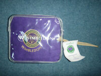Towel: Wimbledon Lawn Tennis Association towel New in package with label still.