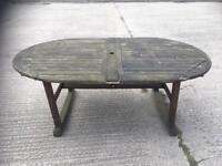 Hard wood Garden table