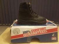 Steel Blue Metguard steel toe cap safety work boots