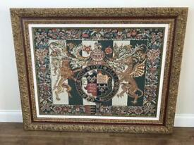 Royal Arms of England Tapestry