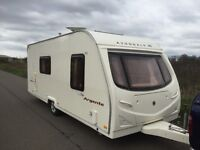 Avondale argente 550/4berth 2007 side dinette full awning L shape sitting lounge with drop