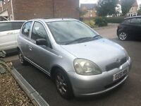 2001 Toyota Yaris 1.3 CDX 5dr AUTOMATIC
