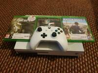 Xbox one s 500gb.mint condition used couple of time only