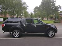 NO VAT!! 58 Plate. Mitsubishi L200. Raging Bull. Automatic.Diesel. Excellent condition all-round.