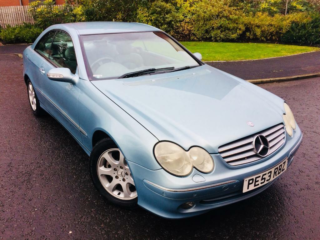 DIESEL AUTOMATIC+MERCEDES CLK 2.7 CDI ELEGANCE+FULL LEATHER INTERIOR