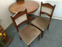Beautiful antique dining occasional chairs, FREE delivery
