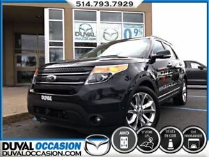 2014 Ford Explorer Limited + AWD + CUIR + NAVIGATION