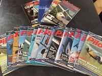 Pilot magazines - large bundle ppl nppl aircraft jets aviation