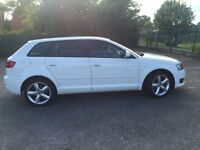 White Audi A3 - immaculate condition with full service history