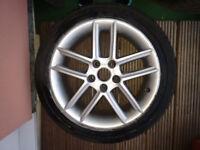Wheel Rims & Tyres 17 ' 5x112 wv seat audi skoda