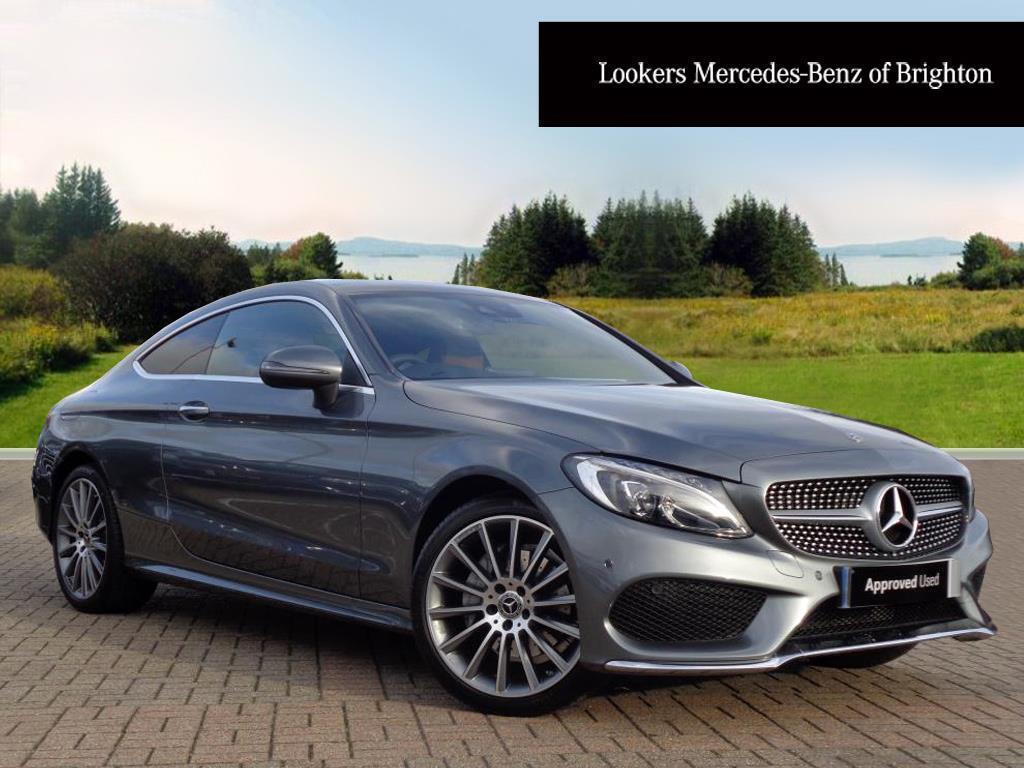 Mercedes Benz C Cl 200 Amg Line Premium Plus Grey 2017