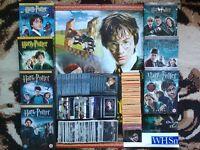 Harry Potter Bundle Job Lot - DVDs, Album Stickers, Cards, Poster & Promo Carrier Bag!
