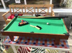 Kids 3ft pool table